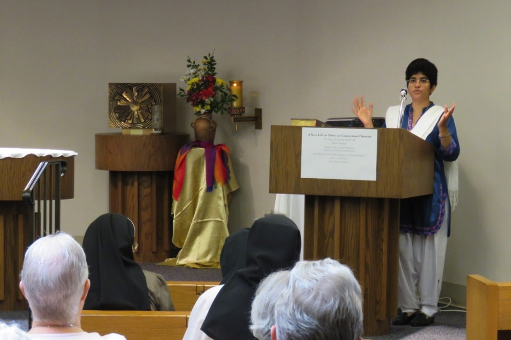 Silent retreat for Sisters