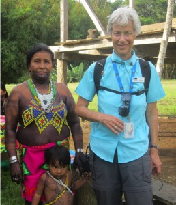 We visited an indigenous Embera Indian village deep in the rainforest of Panama
