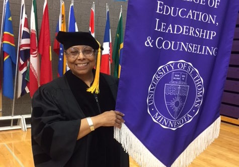 Sister Gayle reached another milestone