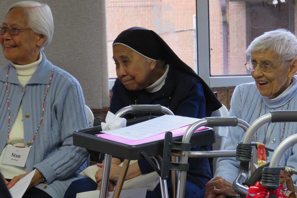 Spring area meetings engage Sisters in province