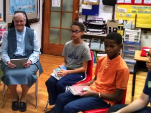 Unexpected invitation to share my vocation story with children