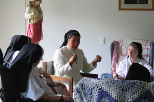 Contemplative Sisters in St. Louis receive Congregational visit
