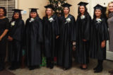 Six women graduate from DeNeuville Learning Center